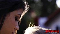 Squirting dyke Veronica Rodriguez gets licked by Cali Sparks Preview