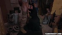 14875 Arab babe with hijab sucks monster cock preview