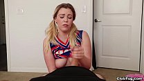 Download video bokep Cheerleader Handjob [ClubTug] 3gp terbaru