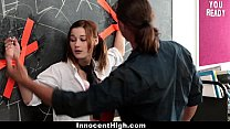 InnocentHigh - Tied up School Girl Likes Older Guys video
