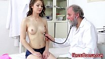 Dirty Old Pussy Doc Seduced Shy Teen thumb