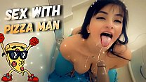 Hot Latina Girl Sex with Pizza Man Roleplay