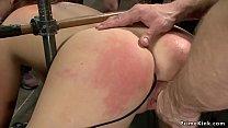 Surrended anal slut in public disgrace