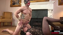 Divine Domme Gives Cbt Cockplay And Anal Sex Wi