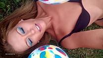 Kayla Kandy's Hot Balloon Play