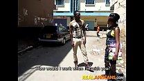 Real African Amateur Slut Street Pickup and Toilet Fuck thumbnail