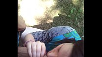 17978 Quick blowjob at the park by 19 years old preview