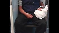Wey jalandose el pito en el metro cd mexico