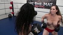 Interracial Foxy Boxing Topless's Thumb
