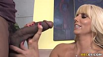 Busty MILF Karen Fisher Fucks Black Dick