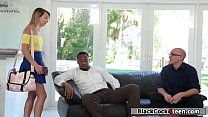 Carmen banged by her friends black dick