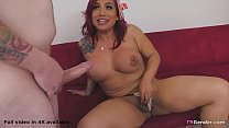 Latino Shemale Kai Bailey Is Dicked Down By Dem