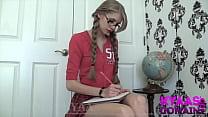 Upskirt Schoolgirl Manipulation GODDESS KYAA FE...