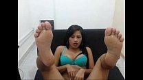 crossdresser gangbang - Cutest latina with the sexiest feet Tastycamz.com thumbnail