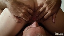 Old english teacher has sex with his sexy young student and gets deepthroat blowjob صورة