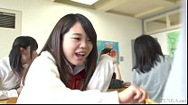 Japanese school from hell with extreme facesitting Subtitled preview image