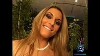 Seductive Sarah James cums hard at her dildo
