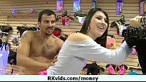 Money does talk for a nasty whore 27