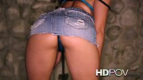 HD POV Honeymoon with young Asian wife looking at you with love Vorschaubild