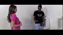 sexy teen takes BBC in toilet. Free webcams here xxxaim.com
