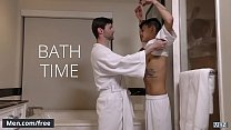 Men.com - (Dennis West, Xander Brave) - Bath Time - Trailer preview
