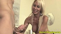 Mature granny spoiling guys dick Thumbnail