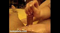 Lucky guy gets good handjob with happy end video
