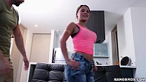 Latina Sofia Perez Has a Pretty Smile and a Big...