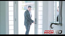 Teen Schoolgirl Fucks Her Obsessed Principal - InnocentHighHD.com pornhub video