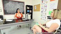 Teacher Angelina Castro teaches Maggie How to T...