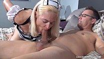 800DAD Maid Whore Fucks Gigolo Cock's Thumb