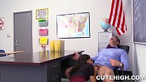Handsome Instructor Humps Naughty Girl