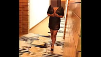 Desi Wife pranya Flashing in Hotel Corridor Naked's Thumb