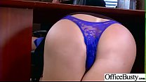 Office Sex With Sluty Big Juggs Teen Girl (Sybil Stallone) vid-29