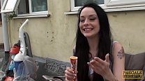 PASCALSSUBSLUTS - Teen Alessa Savage throated a...