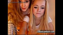 Young lesbian teens on cam