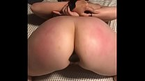 Pawg slut wife tied up and fucked by bbc dildo preview image