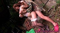 Mature Hitomi Tanaka pounded outdoors Vorschaubild