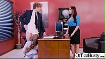 Hot Sex In Office With Big Round Boobs Girl (Angela White & Lena Paul) video-03