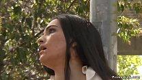 Beautiful Spanish slave disgraced outdoor thumb