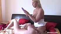 Mature German MILFs in lesbian amateur recording thumbnail