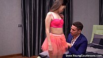 Young Courtesans - Teen courtesan Pinky Breeze sharing orgasms Image