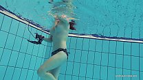 11129 Redheaded Katrin is stripping underwater preview