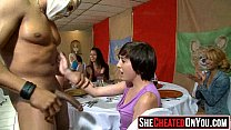 27 Strippers get blown at cfnm sex party  41