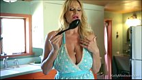 Big Tit Queen Kelly Madison Gets Hot In The Kitchen