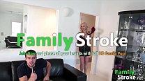 Bombshell Mom Eating Son Jizz: FamilyStroke.net