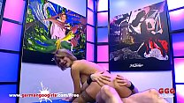 Super Hot Babe Elen Million Double Penetrated by Monster Cocks - German Goo Girls preview image