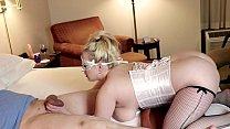 Ball Sucking Busty Blonde SloMo 1080p