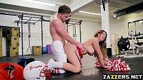 Brooke Berettas pussy fucked doggystyle by Kyle Mason