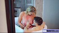Horny Mommy (Leigh Darby) With Big Boobs Like Hard Sex Action clip-18